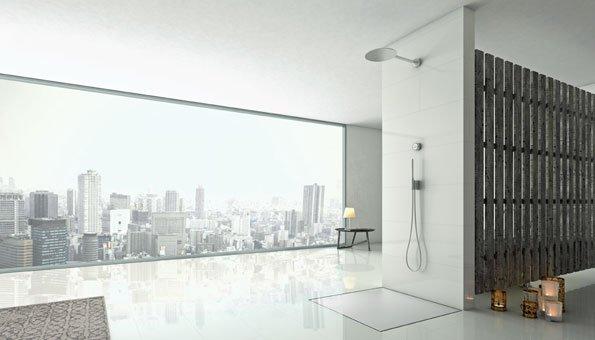 dusche der zukunft verbraucht 90 prozent weniger wasser. Black Bedroom Furniture Sets. Home Design Ideas