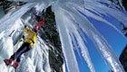 Abenteuer im Eis: Klettern an frostigen Steilhängen