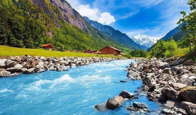Nur 5 Prozent der Gewässer in der Schweiz gelten als naturnah
