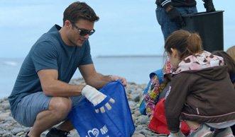 Scott Eastwood setzt sich für den Schutz der Meere ein