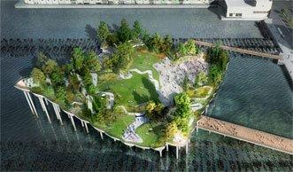 New York bekommt Naturpark mitten auf dem Hudson River