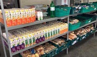 Englischer Supermarkt verkauft Lebensmittel, die andere wegwerfen