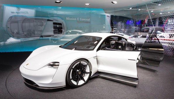 Porsche Elektroauto Umweltfreundlich Und Sportlich Zugleich
