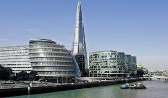 Schwimmender Radweg soll Biker sicher durch London bringen