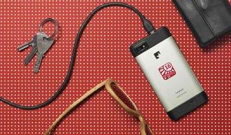Dank Solarvignette das Handy ein Jahr lang mit grünem Strom laden
