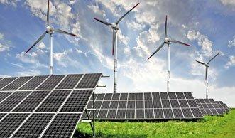 Bei Strom aus Wind und Sonne hängt die Schweiz weit hinterher