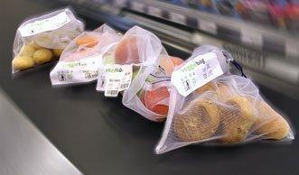 Alternative zu Plastiksäcken beim Obst: Migros testet Öko-Veggie-Bag