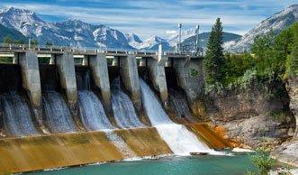 Mehr als die Hälfe allen Stroms kommt von der Wasserkraft