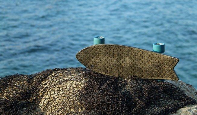 Wie aus Fischernetzen Skateboards werden und andere coole Upcycling-Ideen