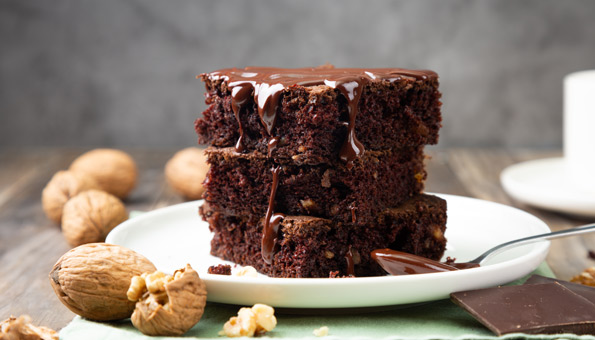 Diesen veganen Brownies kann niemand widerstehen