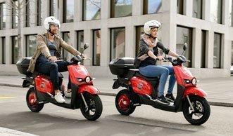 Jetzt rollen Sie mit dem E-Scooter bequem durch Zürich
