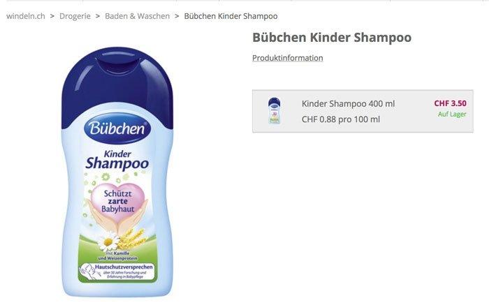 bild 7 babypflege im test b bchen kinder shampoo. Black Bedroom Furniture Sets. Home Design Ideas