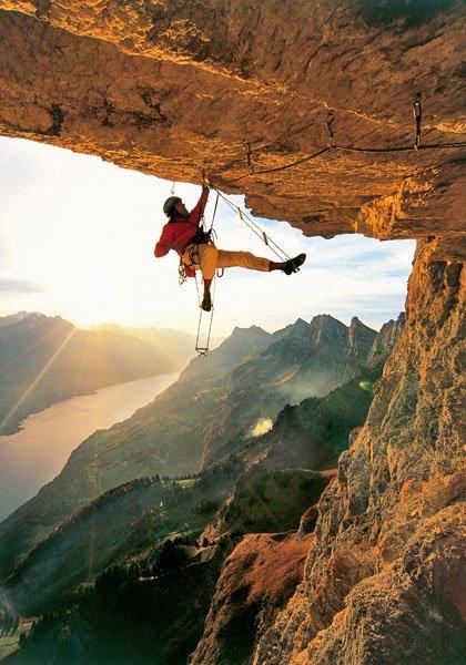 Klettern schweiz schöne touren für anfänger und erfahrene