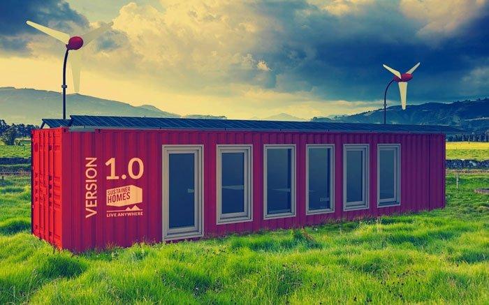 Container haus in den sustainer homes nachhaltig wohnen for Container haus hersteller