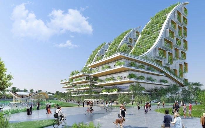 Öko-Quartier soll viel Grün nach Brüssel bringen