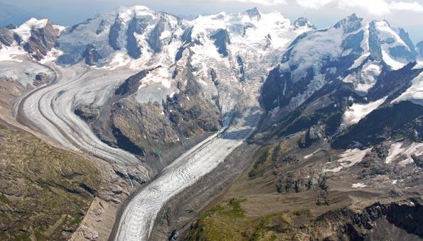 Gletscherwelt Bernina