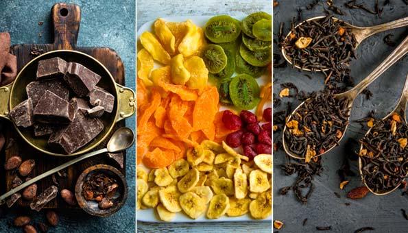 Fairtrade Lebensmittel und Blumen