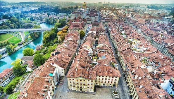 Die Altstadt von Bern ist Unesco kulturerbe