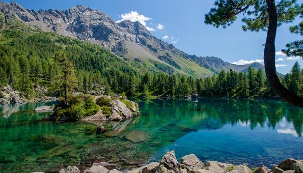 Ausflugsziele Graubünden: Die Top 9 Sehenswürdigkeiten: Lagh da Saoseo