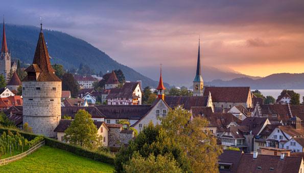 Ausflugsziele Zentralschweiz: Zug