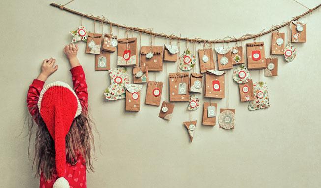 Die schönsten Adventskalender-Ideen zum Basteln und Befüllen