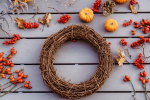 8 Ideen für stilvolle Herbstdeko aus Naturmaterialien