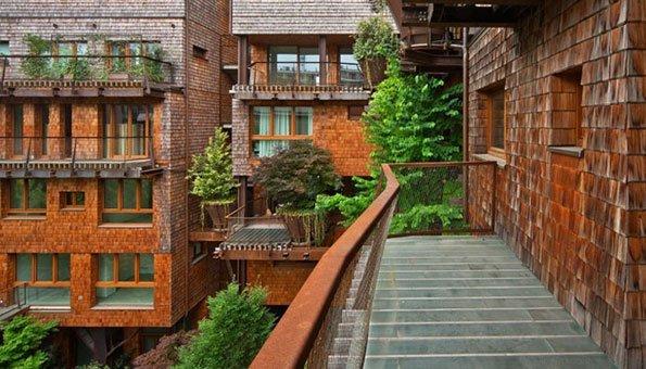 Wohnen Im City Baumhaus: «25 Verde» Holt Den Wald In Die Stadt