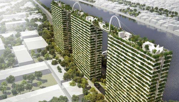 Nachhaltig Bauen bauen mit dachgarten einmaliger urbaner städte und gartenbau
