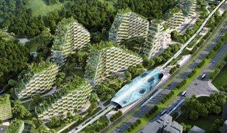 Diese grüne Stadt soll Chinas Smog den Kampf ansagen