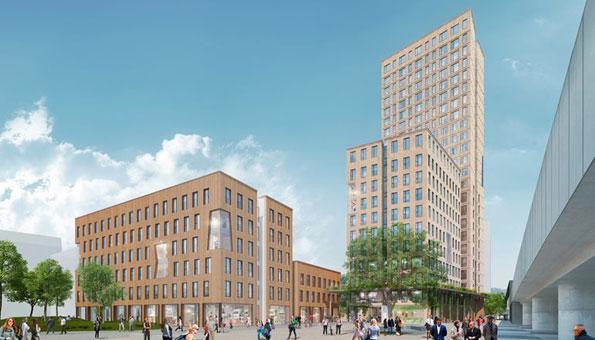 Ökologisch bauen mit Holz: Das geht auch bei Hochhäusern wie dem Hoho in Wien
