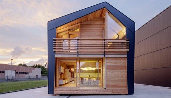 Ökohaus bauen: Dieses smarte Haus steht schon in kurzer Zeit