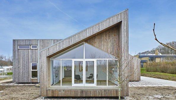 Ökologisch bauen: Das Traumhaus, das aus Abfall besteht