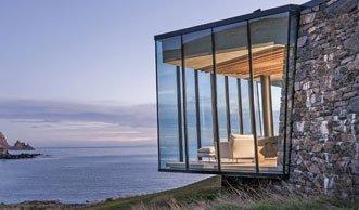Grüne Auszeit: So cool wohnt es sich im Öko-Ferienhaus