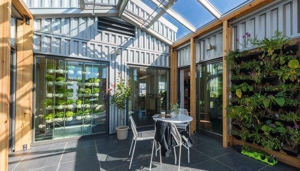 Dieses Haus lernt mit euch nachhaltig zu leben