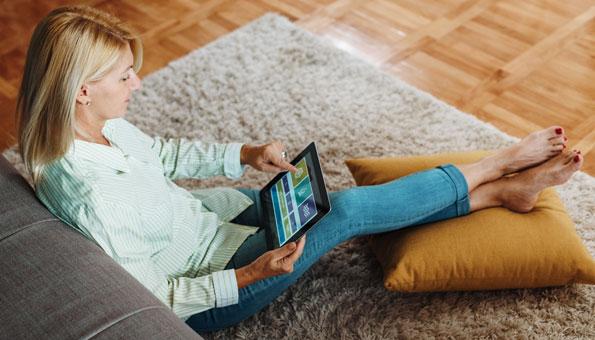 Das Smart Home lässt sich bequem und zentral steuern.