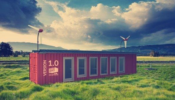 container haus in den sustainer homes nachhaltig wohnen. Black Bedroom Furniture Sets. Home Design Ideas