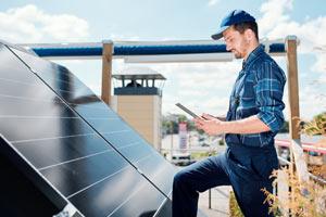 Wartung Photovoltaik-Anlage