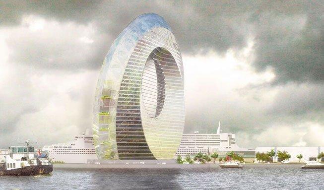 Wohnen im Windrad: So lebt es sich im innovativen Kraftwerk