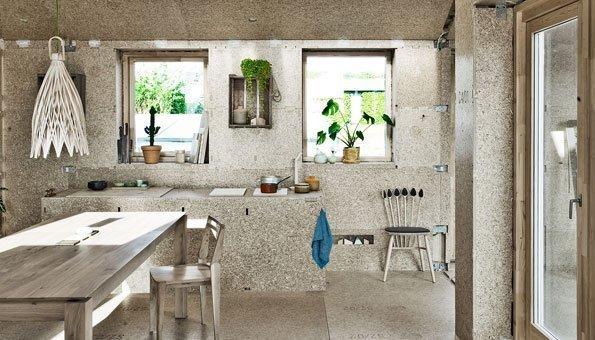 Stein im Innenausbau ist nachhaltig und dazu hochwertig.