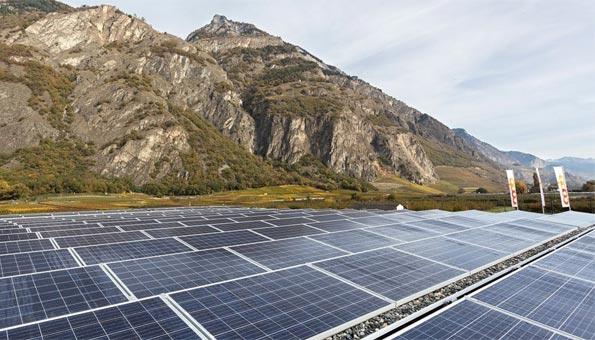 Solaranlage von Coop