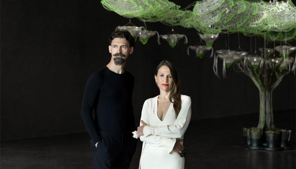 Claudia Pasquero und Marco Poletto