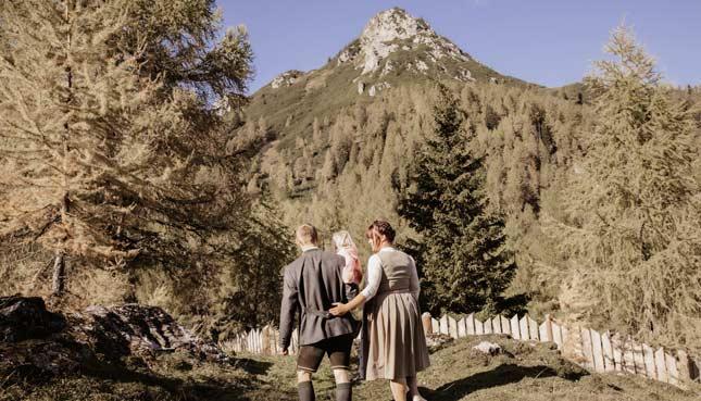 Wandern in den Salburger Bergen