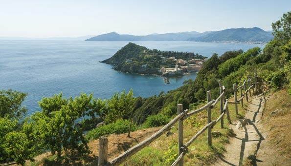 Sestri Levante an der ligurischen Küste