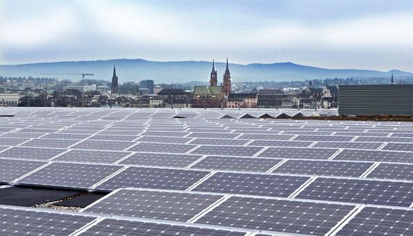 Solaranlage Basel