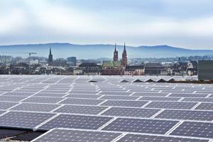 Solaranlage Messe Basel