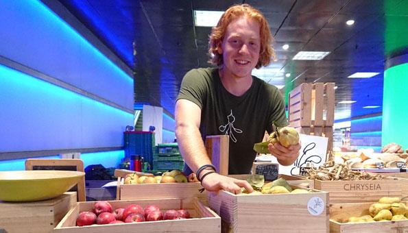 Dominik Waser ist Mitgründer des Vereins Grassrooted