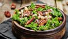 Federkohl Rezept für Federkohl Salat mit Linsen und weissen Bohnen
