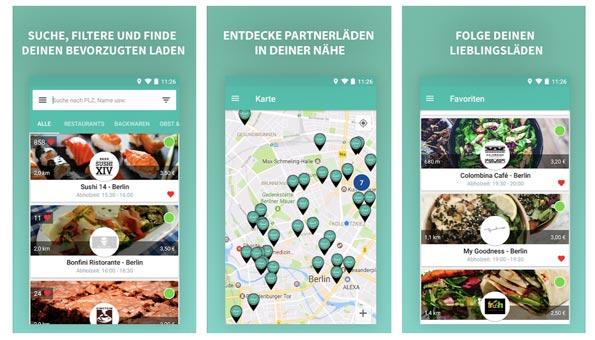 Tipps gegen Food Waste: App To good to goo gegen Essensabfälle