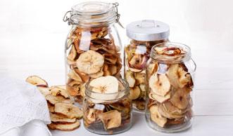 Äpfel dörren im Backofen: So einfach gelingen feine Apfelringe