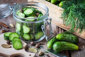 Gurken einlegen und einmachen: Rezept